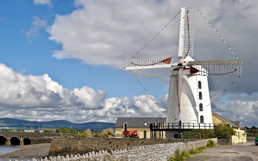 טחנת רוח באירלנד
